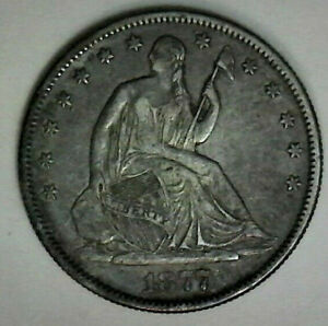 1877 S Seated Half Dollar  FREE SHIP IN THE USA