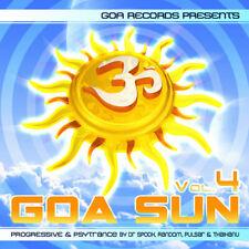 Goa Sun, Vol.4 by Dr Spook, Random, Pulsar & Thaihanu  [Goa / Rare / Import]