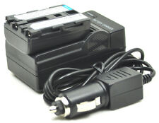 new NP-FM30 NP-FM50 NPFM50 Battery + Charger for DCR-PC103 TRV18 TRV418E TRV17E