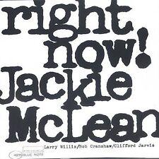 "JACKIE MCLEAN -""Right Now W/1 Bonus Track"" CD! BRAND NEW! STILL SEALED!!"