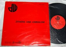 MUSIC DE WOLFE ZITHERS AND CIMBALOM JOHN LEACH Library Record UK Import LP