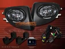 02-05 HONDA CIVIC SI EP3 JDM STYLE CLEAR LENS FRONT DRIVING FOG LIGHTS KIT