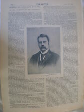 Photo article journalist S Downing of The Sportsman newspaper 1894 Ref R