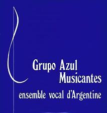 LP ARGENTINE GRUPO AZUL MUSICANTES TANGOS