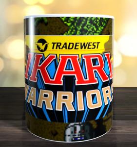 Ikari Warriors retro arcade game Marquee Mug