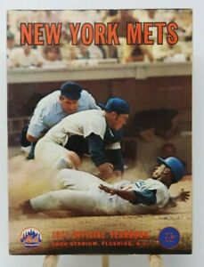 1971 New York Mets Official Yearbook MLB Baseball Tom Seaver Nolan Ryan McGraw