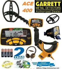 Garrett ACE 400 Metal Detector Water-Proof Coil, Headphones & Free Accessories