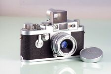 LEITZ RANGEFINDER LEICA IIIG 3G + SUMMARON 35mm f3.5 NEAR MINT DREAM CONDITION