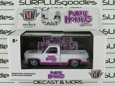 M2 Machines 2020 O'Reilly's Purple Hornies 1973 CHEVROLET CHEYENNE Super 10 SS