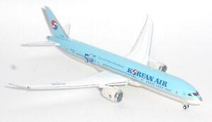 Boeing 787-9 Korean Air JC Wings Diecast Collectors Model Scale 1:400 HL8081 p