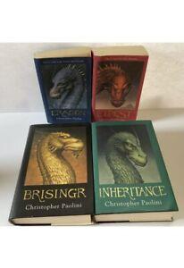 Eragon Series Books 1 2 3 4 Christopher Paolini The Inheritance Cycle Set