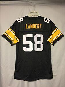 NFL Pittsburgh Steelers Jack Lambert Reebok Gridiron Classic Youth Jersey XL