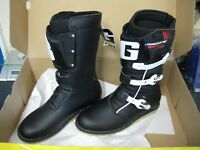Gaerne Balance Classic Trials Bike Boots. Black. ALL SIZES 41-48. ***FREE P&P***