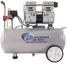 Electric Air Compressor 80 Gal 10 Hp Single Stage Ultra Quiet And Oil Free