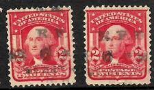 """RFD"" Cancel SON 2 Cent Sc #319 1901-08 US 3116"
