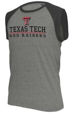 Mens Texas Tech Red Raiders Heather Grey Trailhead Sleeveless T Shirt
