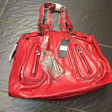 GUI LAROQUE RED HANDBAG BAG BRAND NEW