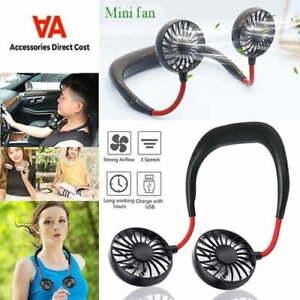 USB Nackenventilator Sport-Fan tragbar wiederaufladbar mobil