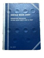 Indian head Cent Book, 1880-1908 Partial Set