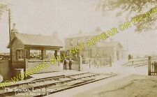 Lowthorpe Railway Station Photo. Nafferton - Burton Agnes. Driffield Line. (1)
