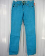 INDIAN ROCK CULTURE $195 NWT STRAIGHT 5 POCKET SIZE 31 SOLID RINSE BLUE