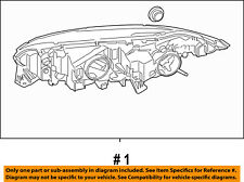 FORD OEM 14-18 Transit Connect-Headlight Assembly DT1Z13008N
