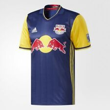 Adidas New York Red Bulls Authentic 2018 Away Jersey - Navy - AB9429 - Size: M