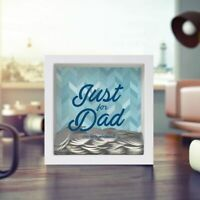 JUST FOR DAD MINI CHANGE BOX money piggy bank savings golf weekend father's day