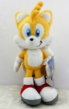New Sonic The Hedgehog Tails Sega Yellow Plush Doll Stuffed Figure Toy 8 inch