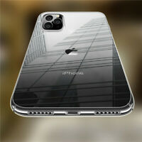 Ultra Thin Clear Hard Case Shockproof Hard Armor Cover For iPhone 11 X XR XS Max