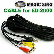 MAGIC SING Cable - 6 Pin RCA Cable for ED-2000 - US Seller Free Shipping