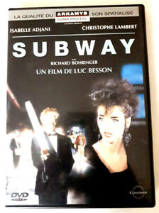 SUBWAY - Luc BESSON / Isabelle ADJANI / Christophe LAMBERT