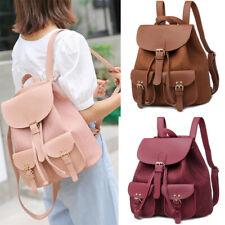Fashion Women's Backpack Travel Satchel PU Leather Rucksack Shoulder Bag School