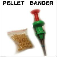 Pellet Bait Bander Tool + FREE Bands.  Carp / Coarse Fishing course tackle
