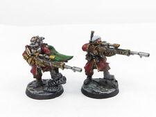 Vostroyan francotiradores Pintado fuera de imprenta Astra militarum Imperial guard Warhammer 40k Ejército