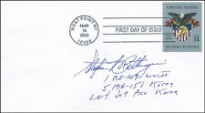 COLONEL STEPHEN L. BETTINGER - FIRST DAY COVER SIGNED