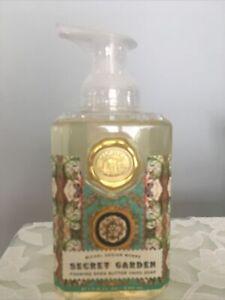 "Michel Design Works ""Secret Garden"" Foaming Shea Butter Hand Soap 17.8oz Sealed!"