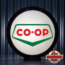 """Co-op Gasoline - 13.5"""" Gas Pump Globe -  Made by Pogo's Garage"""