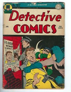 Detective Comics #107 - The Mountain of the Moon!