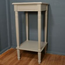 Slight Second Square Accent Table Western Grey Discounted Home Decor 91002