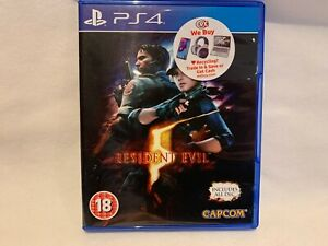RESIDENT EVIL 5 PS4 PLAYSTATION 4