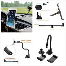 Car SUV Windshield Dashboard Long Arm Portable Mount Holder Cell Phone Support