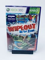 ABC Wipeout In the Zone (Microsoft Xbox 360, 2011) FACTORY SEALED