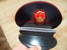 China Tax Officer Visor Cap Hat