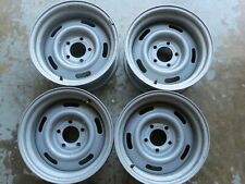 """Chevrolet / Corvette 15"""" x 8"""" Rally Wheels, Set of 4, Excellent Used Condition"""