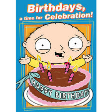 Family Guy Stewie Sound Card (SC 138) - FREE 1ST CLASS POSTAGE