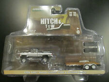 New ListingGreenlight 1:64 H&T 1986 Gmc Sierra Classic 2500 with Flatbed Trailer 32200C New