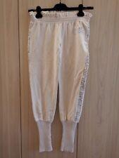 Pantaloni sportivi di tuta PINKO - beige - taglia M - paiette - ginnastica