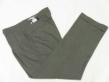 $95 NWT Mens Nautica Anchor Houndstooth Pleated Cuffed Dress Pants 34x32 34 M931