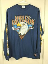 New listing Vtg Harley Davidson Fairbanks, Ak Long Sleeve Graphic T-Shirt Size: L